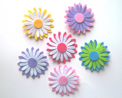 Daisy Felt Flower Decor (6.4