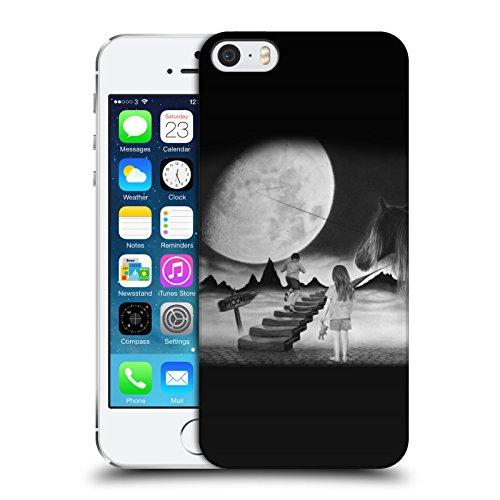 Officiel Graham Bradshaw Lune Illustrations Étui Coque D'Arrière Rigide Pour Apple iPhone 5 / 5s / SE