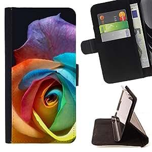 - Queen Pattern FOR Samsung Galaxy S3 III I9300 /La identificaci????n del cr????dito ranuras para tarjetas tir????n de la caja Cartera de cuero cubie - rose spring flower beautifu