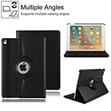 iPad Pro 10.5 inch Smart Leather Case,Businda 360 Degrees Rotating Stand Case,Folio Book Cover Designed,Slim & Light,Perfect Fit,Protective Case for Apple iPad Pro 10.5 inch (iPad Pro 10.5, Black)
