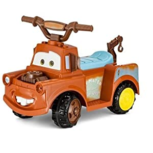 Disney-Cars-Mater-6V-Battery-Powered-Ride-On-Quad-Brown