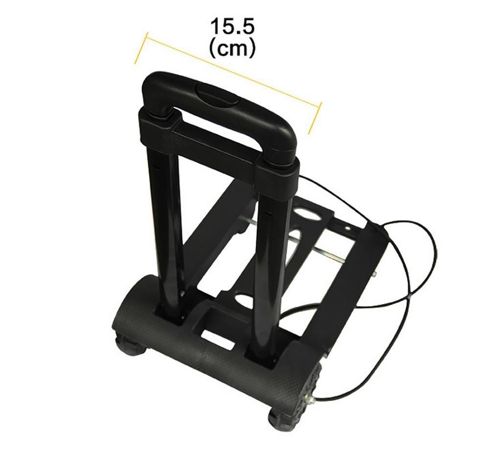 Amazon.com: G&M Luggage Cart Folding Truck, 90 kg Capacity - Multi-Travel Trolley - Multi Use: Sports & Outdoors
