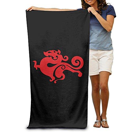 NImao TyLoo Logo Beach Towel For Adults / 31.5'' * 51.2''