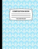 Best Blue Sky Books Book For Boys - Composition Book College Ruled: Blue pastel and White Review