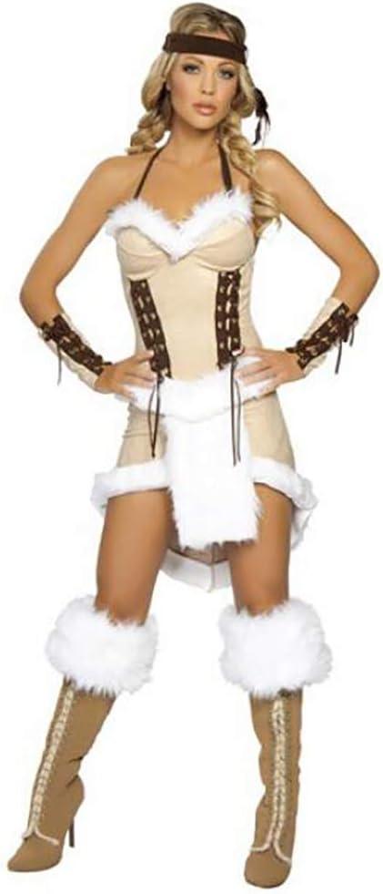 SHANGLY Princesa India Disfraz De Cosplay Gente Aborigen Fiesta De ...