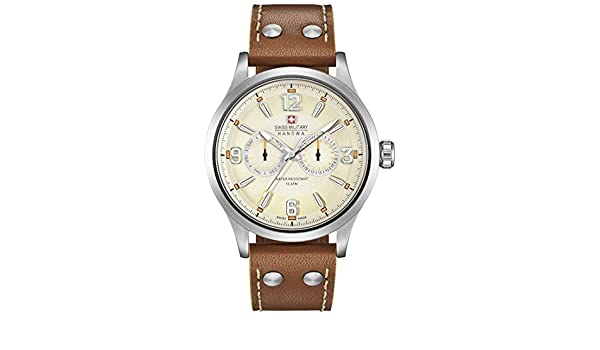 Amazon.com: Hanowa Swiss Military UNDERCOVER MULTIFUNCTION 06-4307.04.002 Mens Wristwatch: Watches