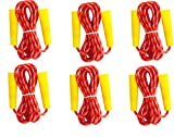 Bulk Kids Jump Ropes for Outdoor Activity (Pack of 6) Party Favors Pack, Outdoor Games Excursion