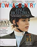 Town & Country Magazine (August, 2012) Charlotte Casiraghi (Risky Rich Girls) (The Best Age Eraser Ever, The Vanderbilt Who Fell To Earth, Is The 1% Ruining Jamaica Mon?))