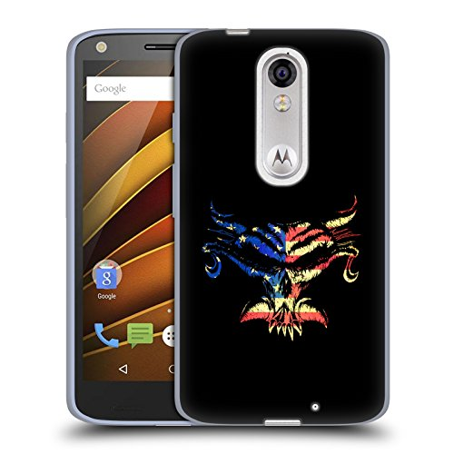 Official WWE American Pride Brock Lesnar Soft Gel Case for DROID Turbo 2 / X Force