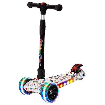HYE-Patinete Scooter para niños de niño 3 Ruedas Scooter de ...
