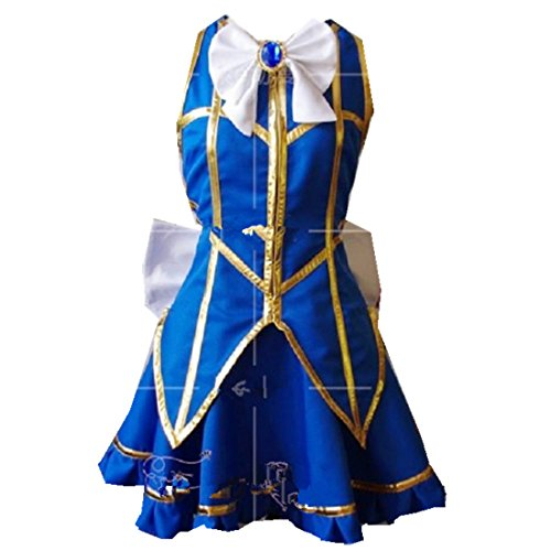 [Fairy Tail Lucy Cosplay Costume 2nd version] (Fairy Costumes Uk)