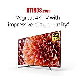 Sony XBR65X900F 65-Inch 4K Ultra HD Smart LED Android TV with Alexa Compatibility – 2018 Model