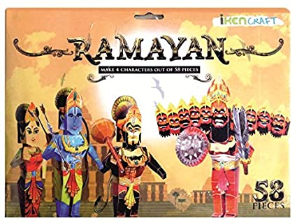 Buy Iken Craft Ramayan 4 Characters Online at Low Prices in