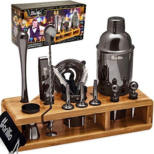 Black 23-Piece Bartender Kit Coc...