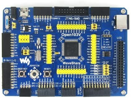 STM32F1 Development Board ALLPARTZ Waveshare Open103V Package A