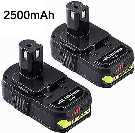 Amazon.com: Dosctt Repuesto para batería Ryobi de 18 V ...