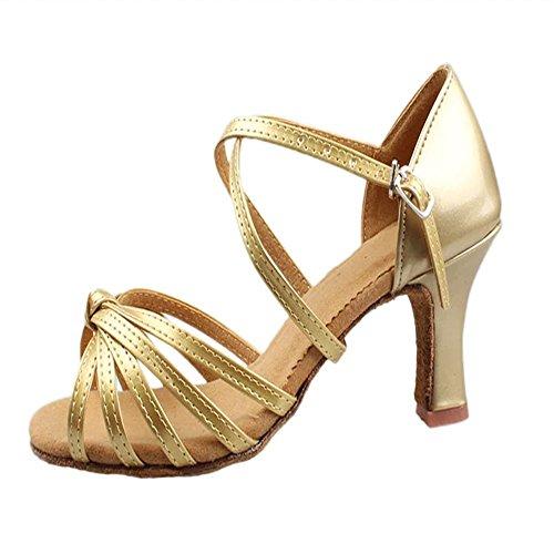 chaussures haut pour chaussures chaussures 2017 danse de Gold hauts dans talons de femmes les mou de fond chaussures ventre 5cm femme de adultes latine danse danse aqHHtx0w
