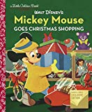 Walt Disney's Mickey Mouse Goes Christmas Shopping Little Golden Book
