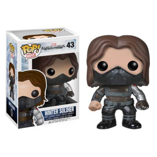Figura Pop Marvel Winter Soldier Unmas