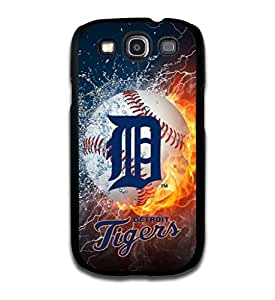 Tomhousomick? Custom Design Forever MLB Detroit Tigers Team Case Cover for Samsung Galaxy S3