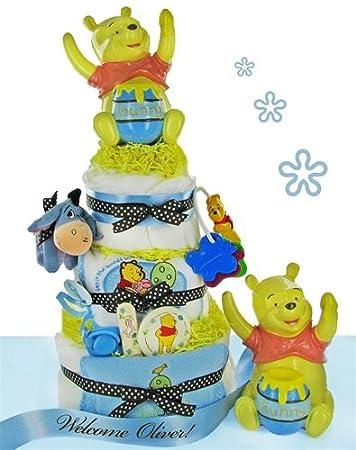 Amazon.com: Preciosas Winnie the Pooh 3 niveles para tartas ...