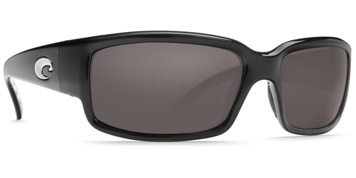 Costa Del Mar Caballito Sunglasses, Black, Gray 580P Lens by Costa Del Mar (Image #1)
