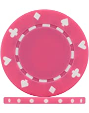 Premier Poker Chips UK - Pink Suited 12g Poker Chips (Roll of 25)