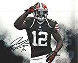 Josh Gordon Autographed Cleveland Browns 8x10 Photograph -Certified Authentic