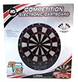 MD Sports Competition Electronic Dartboard with Soft Tip Darts