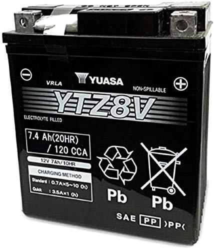 Yuasa-batterij YTZ8-V SLA AGM