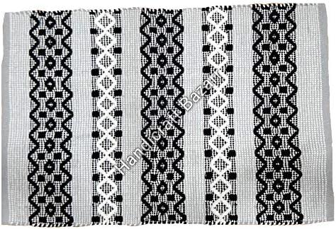 Handicraft Bazar Dhurrie Rug Alfombra Grande de algodón Indio para ...