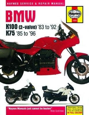 amazon com haynes bmw k100 and k75 manuals m1373 automotive rh amazon com bmw k75 shop manual bmw k75 repair manual