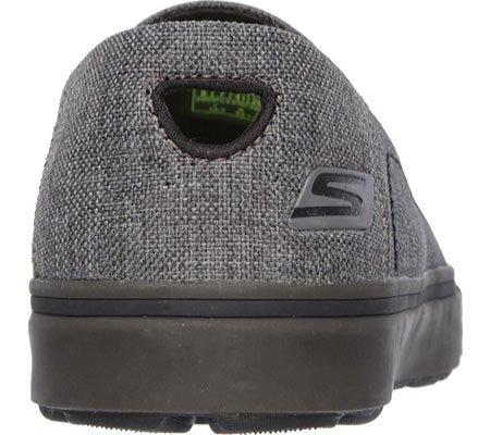Skechers Mens Go Vulc-Diverge Walking Shoe Blk/Gry