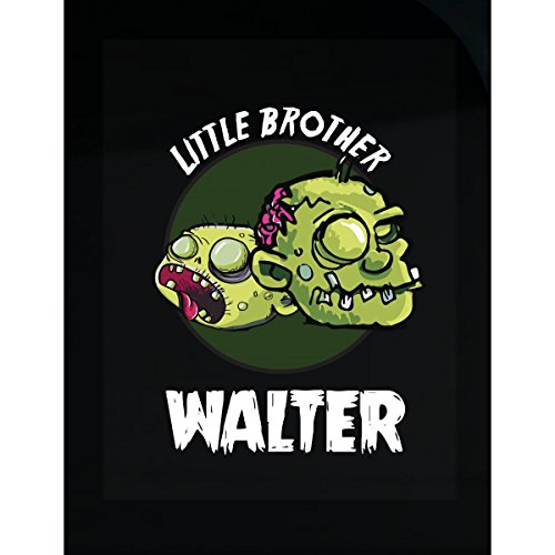 Prints Express Halloween Costume Walter Little Brother Funny Boys Personalized Gift - Sticker]()