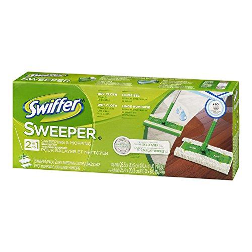Swiffer Sweeper 2 In 1 Mop And Broom Floor Cleaner Starter Kit