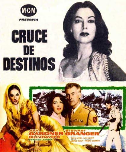 Bhowani Junction Ava Gardner Movie poster print
