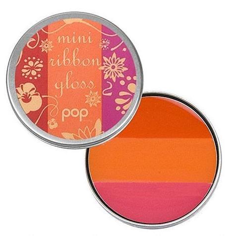 POP Beauty - Mini Ribbon Gloss Poppy Red 0.12 oz.
