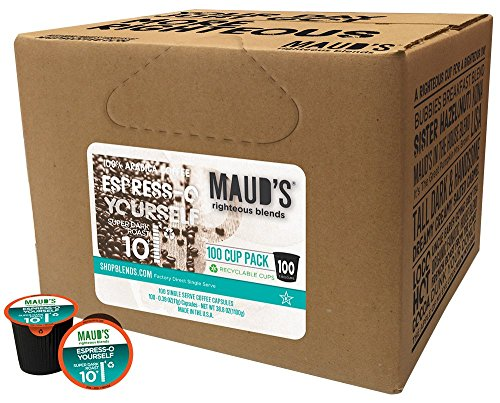 Mauds Gourmet Coffee Espress California Roasted product image