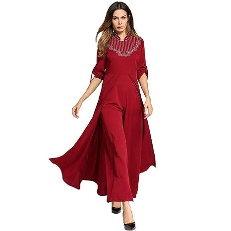 Cvbndfe Cómodo Vestidos de Mujer Vestidos de Comercio Exterior Vestidos del Medio Oriente Toga árabe Elegante (tamaño : Metro): Amazon.es: Hogar