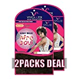 [2PACKS DEAL] VIVICA A FOX 100% HUMAN HAIR REMI AFRO SOUL KINKY BULK 16'' - HKBK16-V (1B)