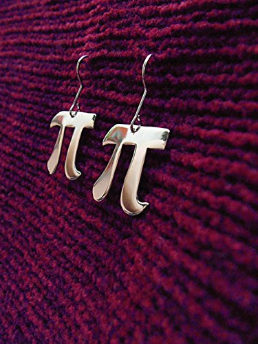 Amazon Pi Symbol Letter Earrings Math Geek Nerd Handmade