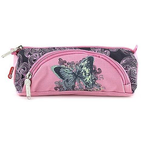 Target 11-5887 - Butterfly, estuche de lápices redondo ...