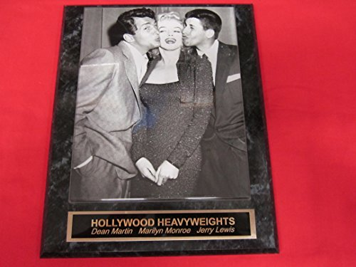 Dean Martin Marilyn Monroe Jerry Lewis Collector Plaque w/8x10 Photo and CUSTOM engraving!