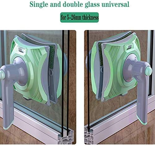 WYFWYT Laveur de vitres magnétique Double Face, Lave-vitre, Nettoyeur vitre, Nettoyant de vitres magnétique Double-Face, essuie-Glace, Outils de Nettoyage 5-26mm - Home Robots