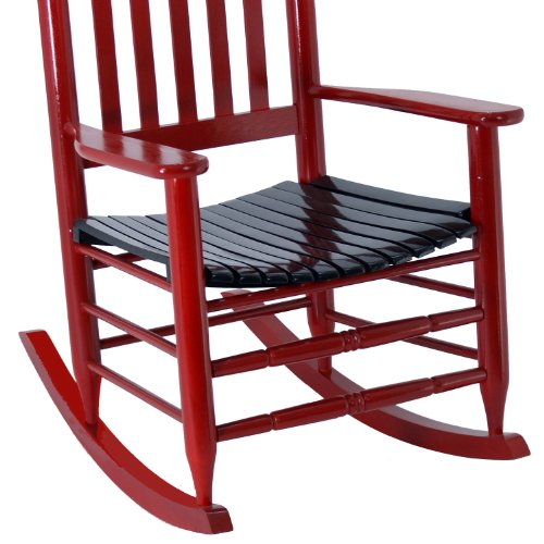 Amazon.com: Georgia Bulldogs Painted Wood Rocking Chair In Red And Black:  Kitchen U0026 Dining