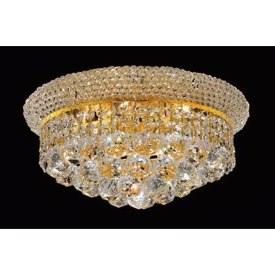Elegant Lighting Primo 8-Inch High 6-Light Chandelier