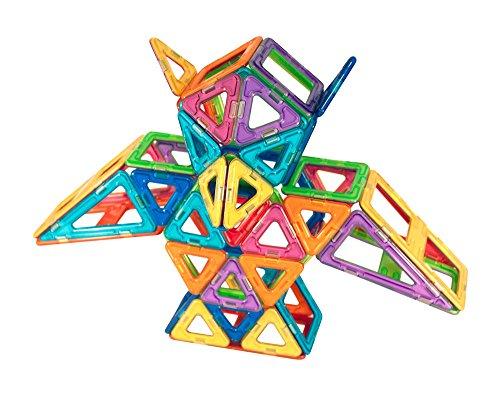 51 wakR8n0L - Magformers Smart Set (144-piece ), Deluxe Building Set. magnetic building blocks, educational magnetic tiles, magnetic building STEM toy set