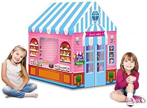 Tippi - Tienda de campaña para niños, para interior y exterior, como en casa, jardín de infancia, jardín o parque Bäckerei Rosa.: Amazon.es: Hogar
