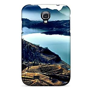 Anti-scratch Case Cover Luckmore Protective Vineyards Down To The River Hdr Case For Galaxy S4