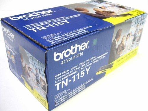 Gts Value Combo - GTS Value Combo: Brother Brand New Genuine OEM TN115 Yellow Toner Cartridge, ...